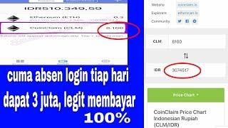 BOOM|| CUMA ABSEN LOGIN TIAP HARI DAPAT 3 JUTA MEMBAYAR