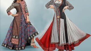 Floor Length Long Kurti Design Photo / Images 2018 | Latest Long Gown Collection