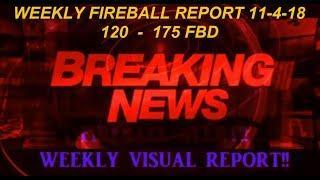 NIBIRU ' FIREBALL  NEWS Update! 11-04-18  ~ PLANET X , UFOS