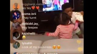 NBA YoungBoy Son Draco and Taytay got in a fight