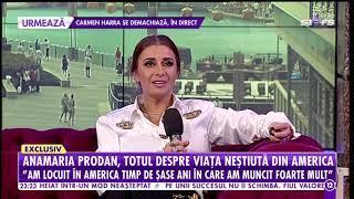 Anamaria Prodan, totul despre lumea fotbalului: La disperare oamenii fac multe lucruri