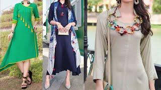 Daily Wear Beautiful Kurta Design Collection 2018 || Latest Kurti Design Images / Photo